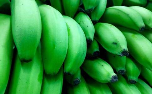 Bananele verzi, beneficii pentru sanatate